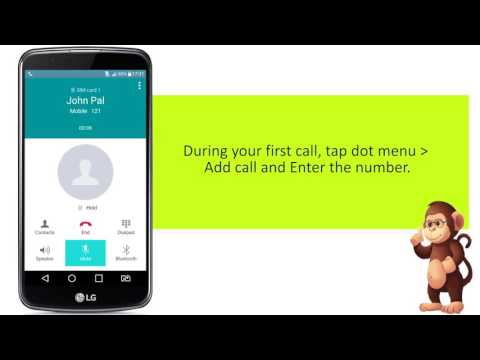 How To Make a Second Call On LG Mobile Support for Apple android smart phones