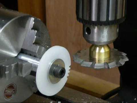 歯車の自動製作