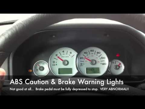 Ford Escape Hybrid Brake Problem
