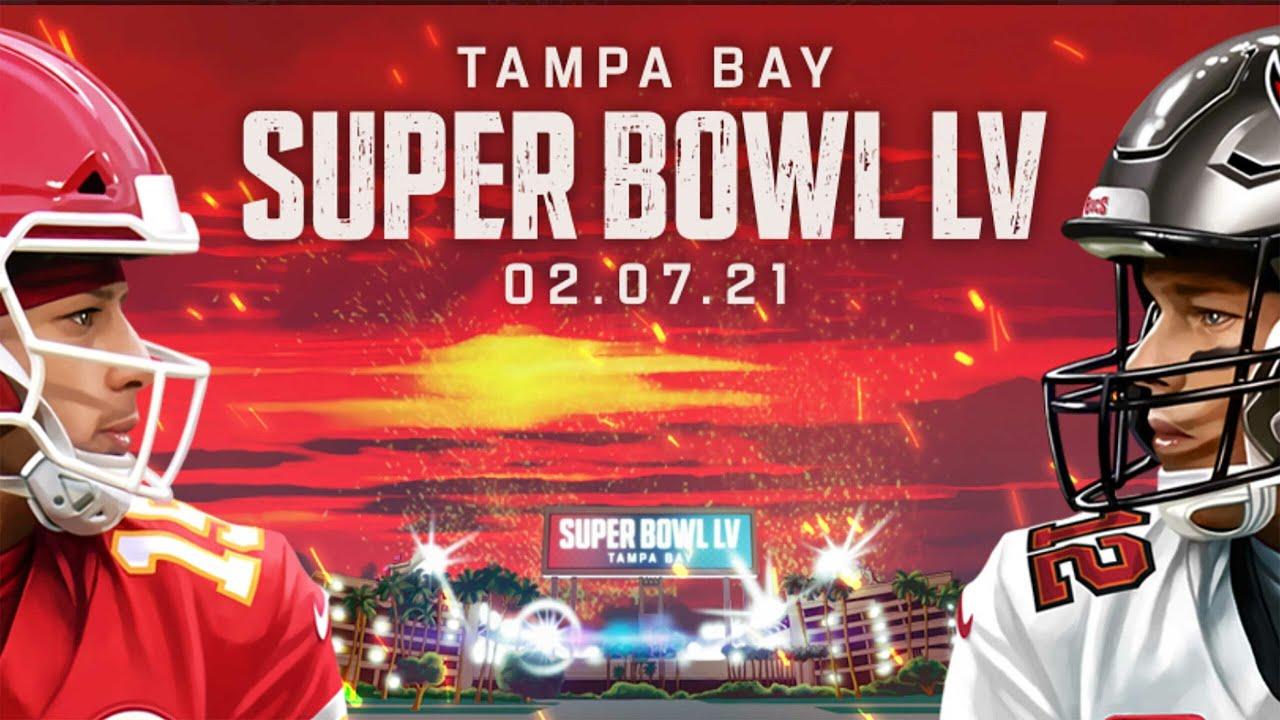 NFL SUPER BOWL LV 55 (Deutsch)