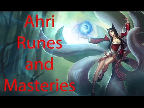 Ahri Season 4 Runes and Masteries