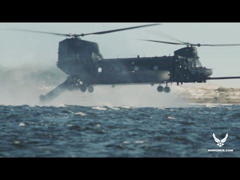 U.S. Air Force: Special Ops Zodiac Drop