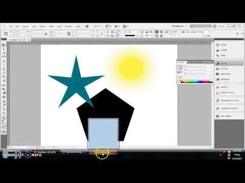 InDesign Tutorial: How to create stars, polygons