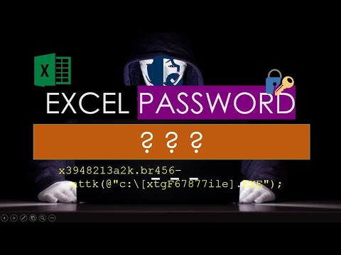 How to password protect or remove password from Excel Workbook-Excel Encryption