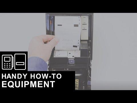 Loading Money Orders into a Certex Printer