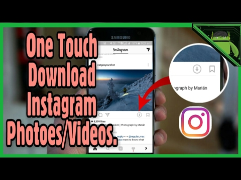 How to Download Instagram Photos or Videos!