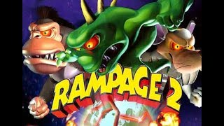 Rampage 2: Universal Tour Walkthrough Gameplay