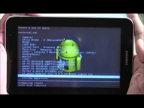 How To: Flash/Install Android 4 4 on Samsung GalaxyTab 7 0