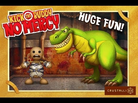 Kick the Buddy | Kick The Buddy No Mercy HD iPad App Review - CrazyMikesapps