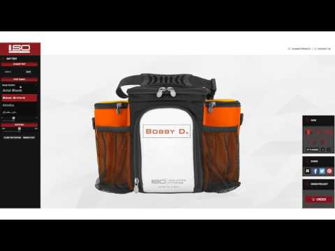 Customized Bags, Meal management designer by Isolator Fitness