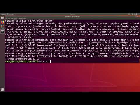 How To Install Jupyter Notebook In Ubuntu Linux