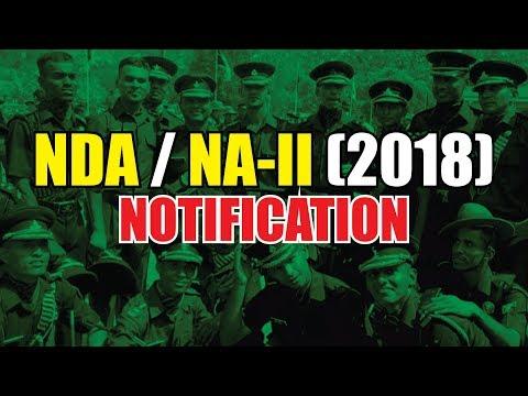 NDA ii 2018 Notification    HOW TO APPLY NDA-Ii 2018