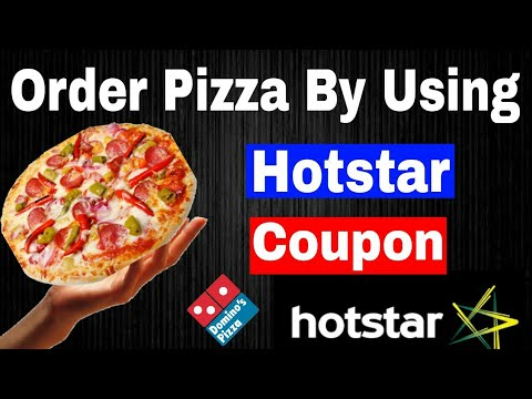 How to Apply Dominos Pizza Coupon Code Rewards got from Hotstar