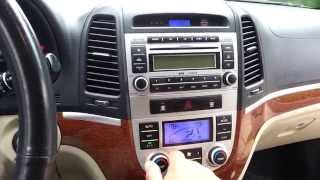 Front Door Panel Removal And Replacement Hyundai Santa Fe 2006 2007