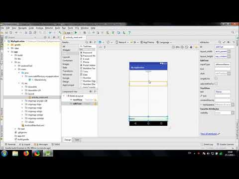 Develop simple Word Counter in Android Studio