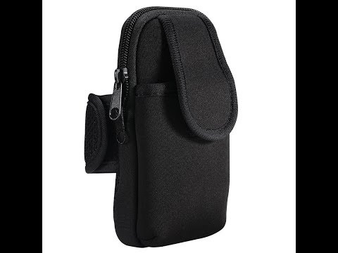 GRDE Sports Armband Universal Arm Bag Phone Pouch Case for Gym Exercise Jogging Running Workout
