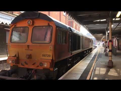 (HD) Snow & Ice Treatment trains at Tunbridge Wells - March 2018.