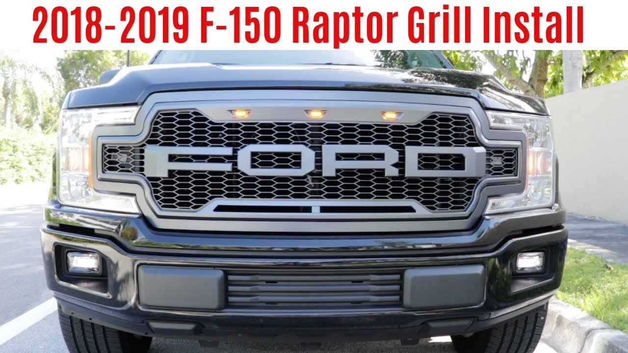 Installing a Raptor Look Grille On A 2018-2019 Ford F-150