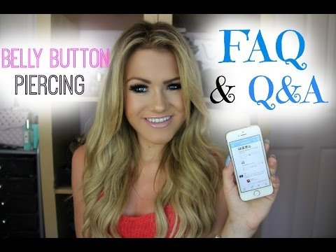 Belly Button Piercing FAQ & Q&A | My Piercing Story