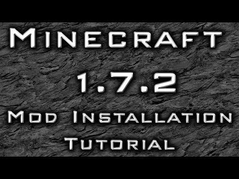 Minecraft 1.7.2 : Mod Installation Tutorial - Optifine, Shaders, World Edit
