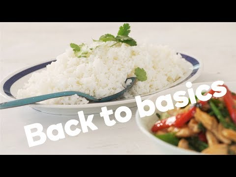 How to cook white rice to perfection