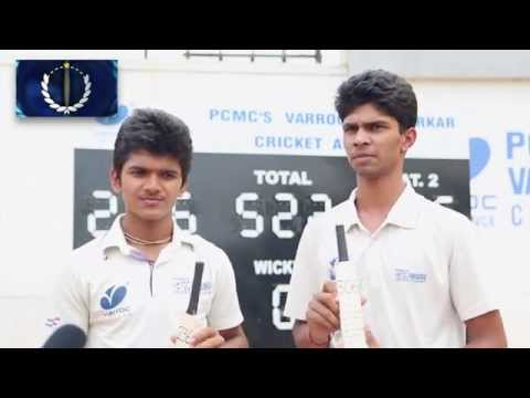 VCA Pune Interview with Vinay & Rituraj for scoring a record partnership