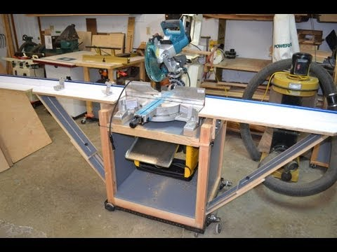 Miter Saw Stand/Planer Station With Rotating Top