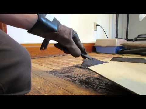 How to Remove Old Linoleum Tile
