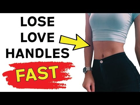❤️ How To Lose Love Handles Fast 🏁 | 4 Workouts To Get Rid Of Love Handles (This WORKS)
