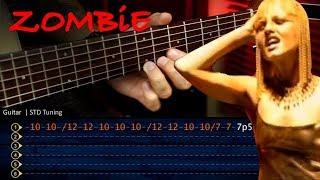 ZOMBIE The Cranberries - Guitar Tutorial TABS   Cover Guitarra Christianvib