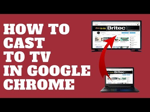 How to Cast to TV in Google Chrome