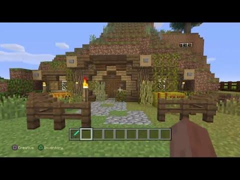 Minecraft PS4 - Hobbit Hole