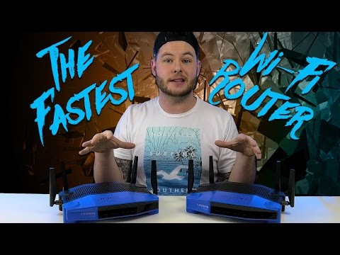 The Fastest Wi-Fi Router?! | QwazyTech | Linksys WRT3200ACM