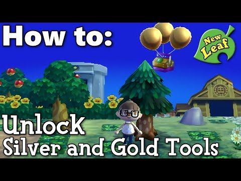 How to Get All the Silver and Gold Tools in AC: NL