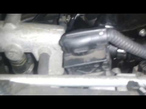 Checking MAP Sensor for dirt/blockage, '06' Vauxhall Zafira