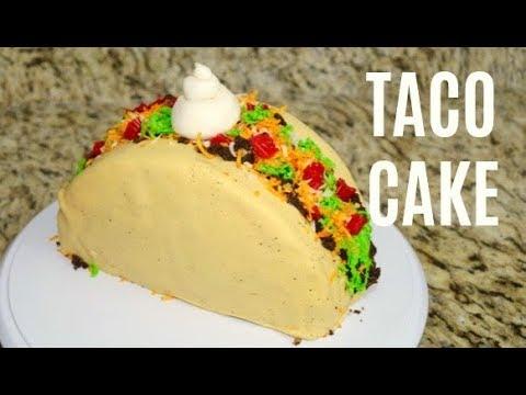 How To Make a TACO CAKE