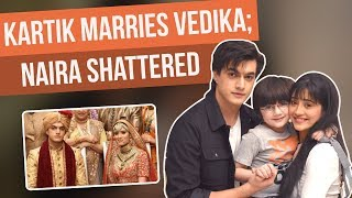 Yeh Rishta Kya Kehlata Hai: Kartik introduces Naira as his ex-wife to Vedika | YRKHH