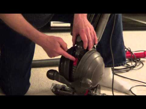 How to Clean a Dyson Vacuum - Dyson Blockage - dc 65