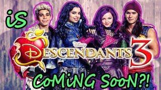 Is DESCENDANTS 3 Happening? 🍎 [Disney DESCENDANTS 2 Sequel Rumors] ✨