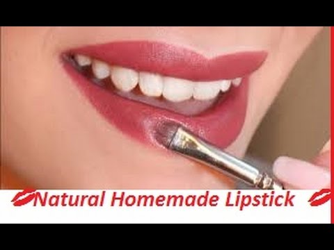 💋Natural Homemade Lipstick at home  MATTE👄 GLOSSY💋