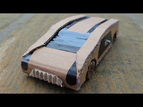 How to Make a Amazing Car from Cardboard