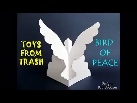 Bird of Peace | Marathi | Amazing Paper Sculptor