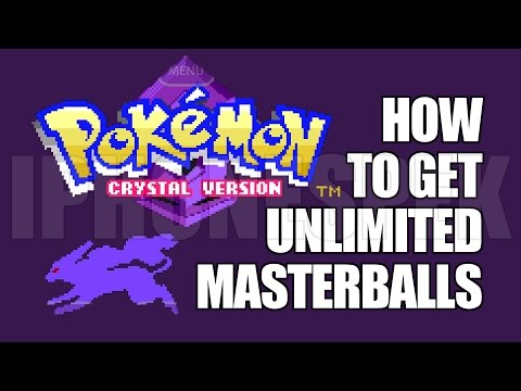 How to get Unlimited Masterballs Pokemon Crystal iOS 11 10 9 iPhone iPad