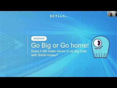 Webinar: Does it Still Make Sense to do Big Data with Small Nodes?