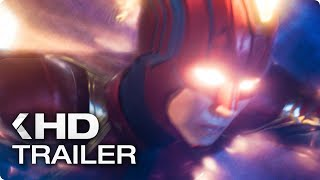 CAPTAIN MARVEL - 4 Minutes Trailers (2019)