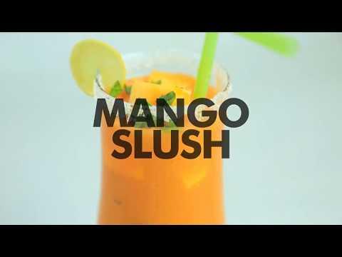 Quick & Easy Mango Slush with Tang