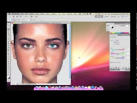 How to change eye color on Adobe Photoshop CS5