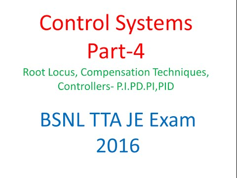 BSNL TTA Exam Lecture Control System