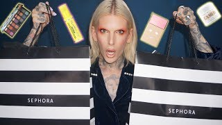 FULL FACE USING $3,500 OF NEW MAKEUP AT SEPHORA