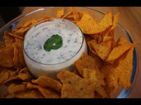 Yogurt Mint Dip / Mint & Mustard Sauce / Pudina Raita